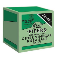 PIPERS BURROW HILL CIDER VINEGAR & SEA SALT 24's